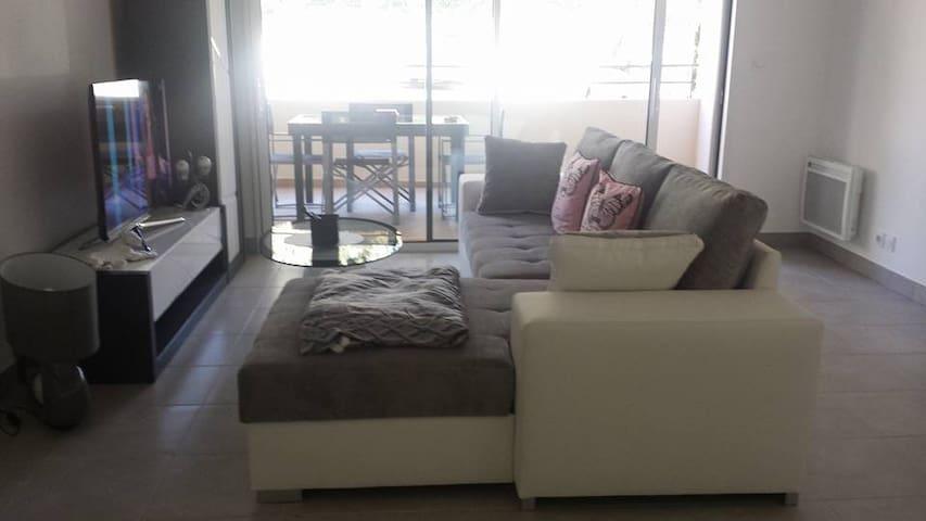 bel appartement chaleureux et reposant et moderne - Fréjus - Apto. en complejo residencial