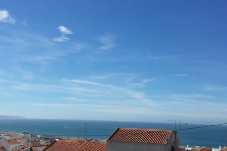 Incredible view over the sea of Nazaré - Nazaré - Appartement