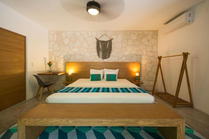 Garden King Room by Prana Boutique Hotel Tulum 1