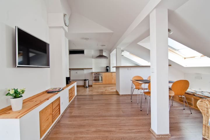 Penthouse with terrace - Berlin - Apartment