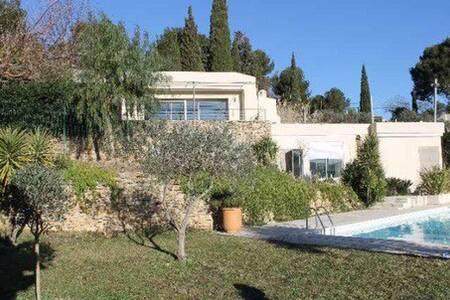 Maison moderne dans les vignes proche de la mer - Saint-Cyr-sur-Mer - 別荘