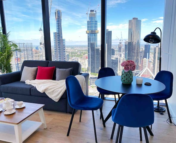 NEW! Fabulous View 2BR SKY Stay On Collins