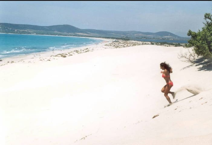 case vacanze solemare spiagge sud sardegna - Is Potettus - Řadový dům