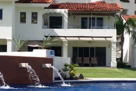 Beachfront Luxury House in condo, Nvo Vallarta - Nuevo Vallarta - House - 2