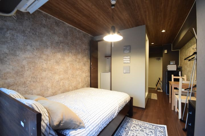 ☆Kagurazaka/Cozy room/5 min from station!!☆ - Shinjuku-ku