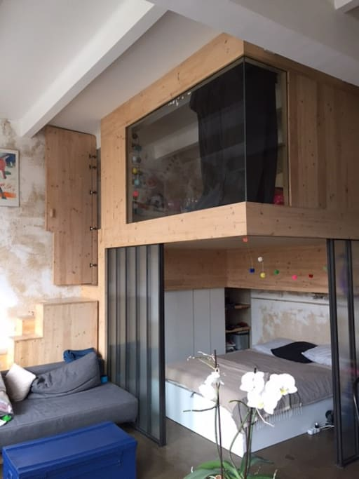 Super loft belleville appartements louer paris le de france france - Achat loft ile de france ...