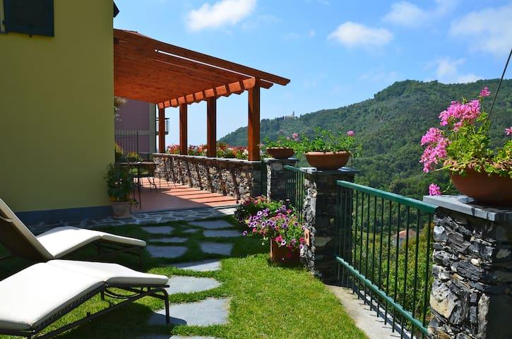 Villa Limoni Terrace Garden 5 Terre - Solaro - Villa