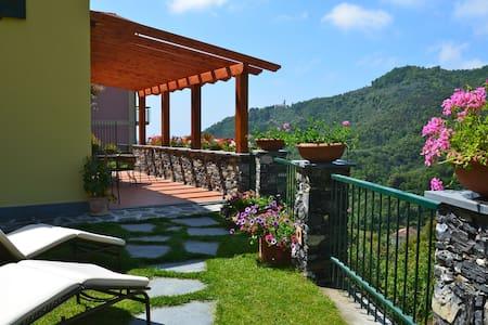 Villa Limoni Terrace Garden 5 Terre - Solaro - Vila
