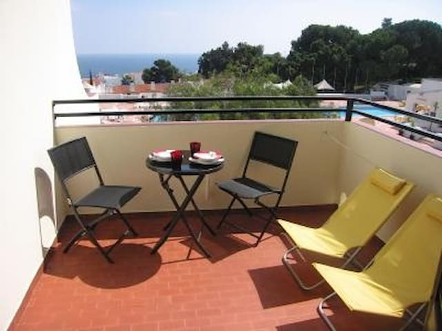 Studio in Albufeira with Sea View
