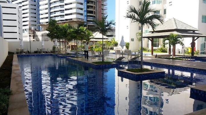 Loft Luxo, localização Central  Salvador Shopping
