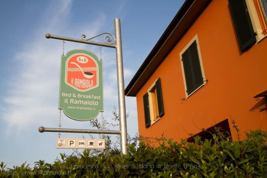 Bed And Breakfast Il Ramaiolo, Santa Maria a Monte (Pisa) - Tuscany