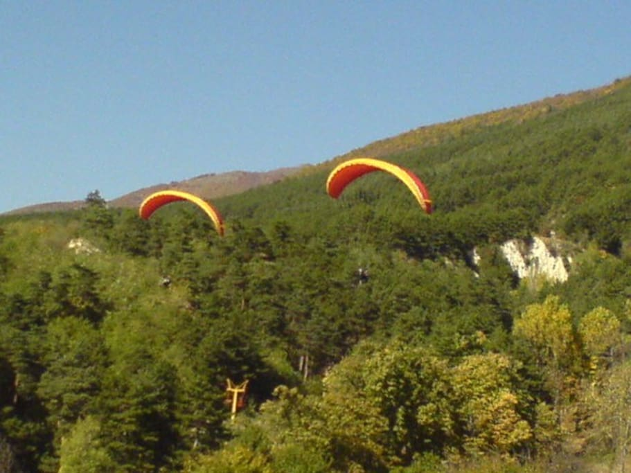 The biggest paragliding centre on the Balkan