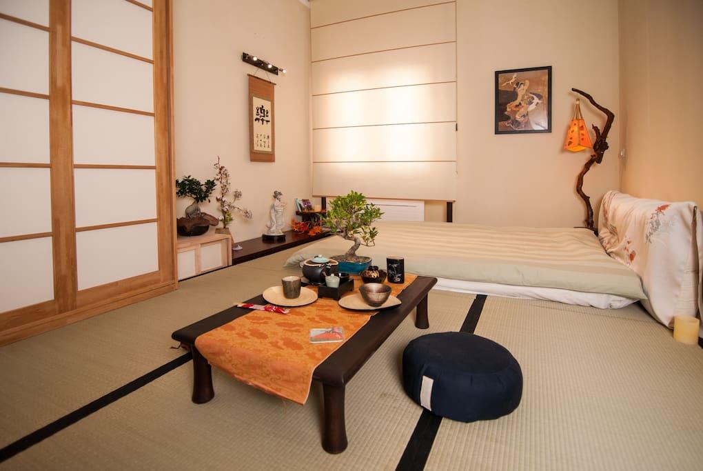 midori zen tatami organic suite chambres d 39 h tes louer rome latium italie. Black Bedroom Furniture Sets. Home Design Ideas