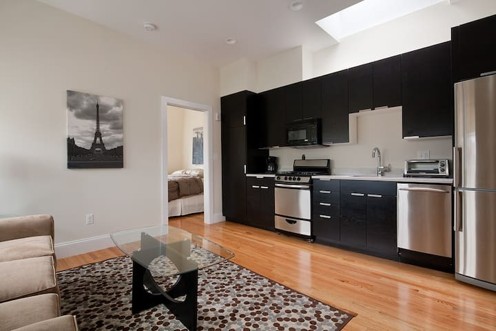 City Views|19th Cent. Past on Tremont| 1BR 1BA #5