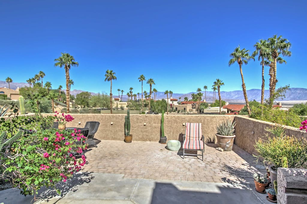 The mountains of Southern Cali await you at this Borrego Springs vacation rental!