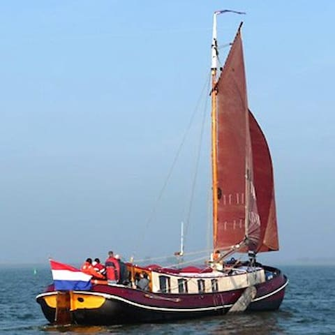 115 year old Barge in Enkhuizen - Enkhuizen - Barco