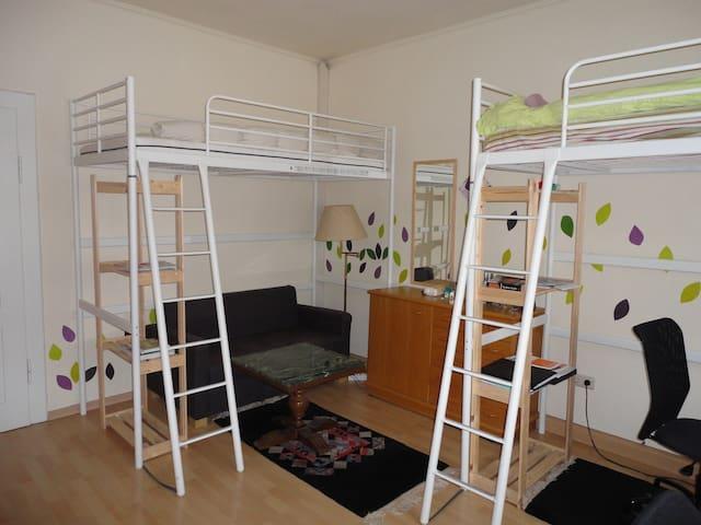 Zimmer 1G3/Bad+Küchennutz./Nähe HBf - Worms - อื่น ๆ