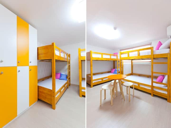 와우힐즈 게스트하우스(홍대, 서울) 도미토리 (6인실)