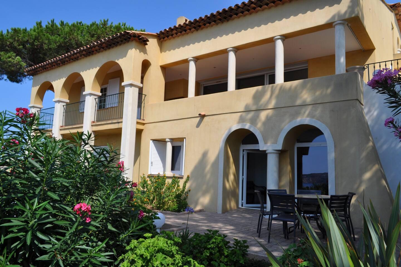 façade de la villa Saint Erasme