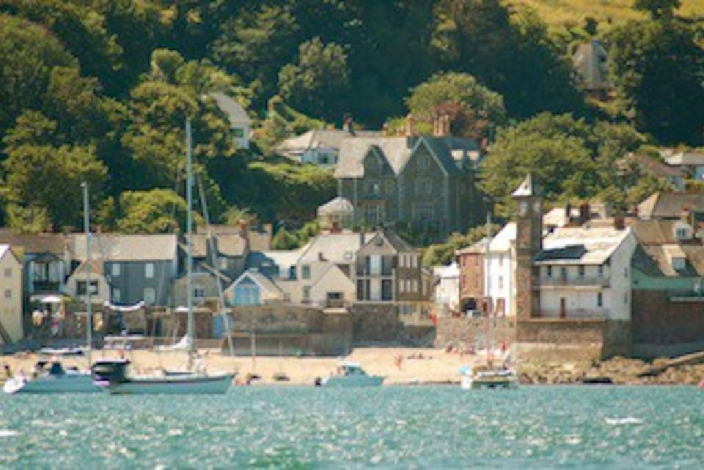 View of house from the sea