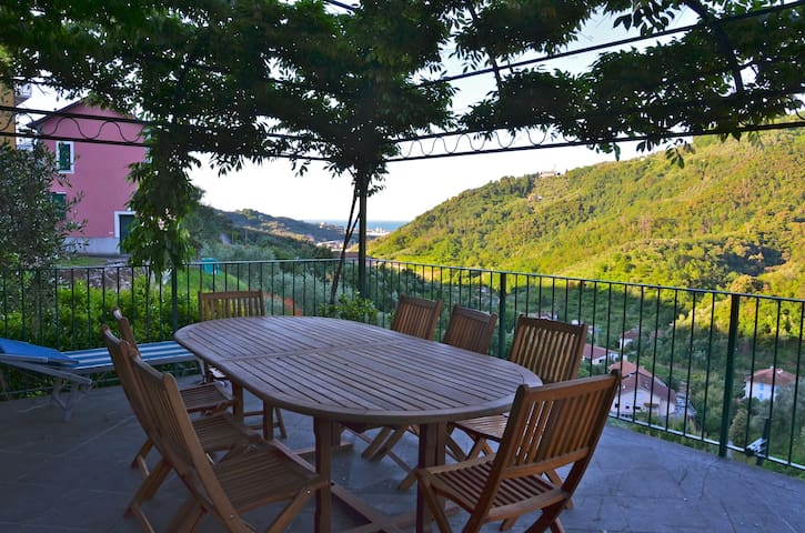 Apartment Panorama+Room Luna 5Terre - Solaro