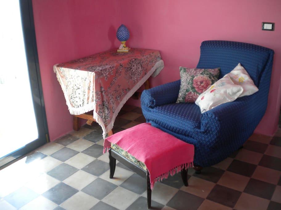 Bilocale camera da letto / Two-room apt bedroom