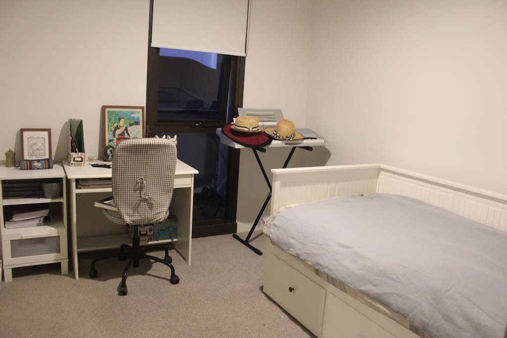 2nd Bedroom with extendable daybed (queen)