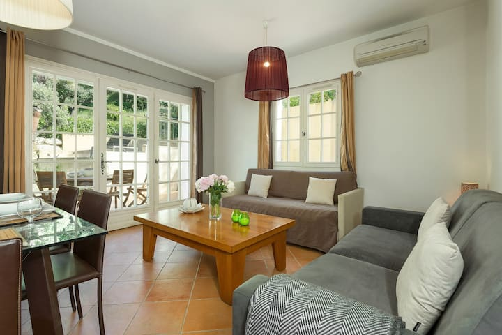 Relax and rejuvenate in the cozy living room in our unit.