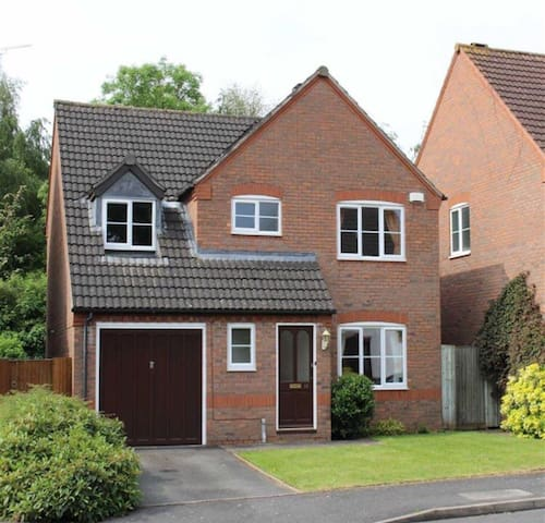 Entire Spacious Detached House - Royal Leamington Spa - Hus