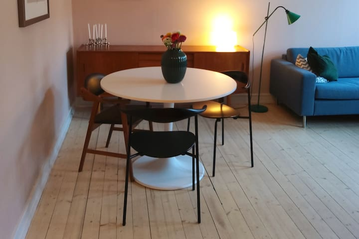 "Cozy and ""løkka"" hip apartment in Grünerløkka"