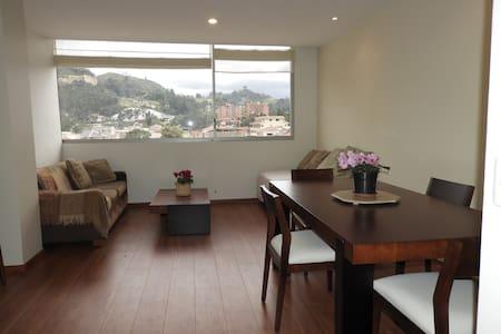 Departamento con vista a las montañas de Cuenca