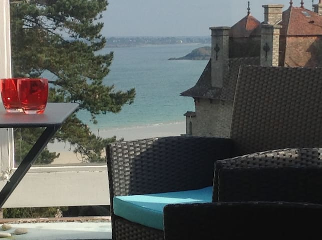 "Fantastic  ""  Sea View in SAINT CAST "" near Dinard - Saint-Cast-le-Guildo - Apartamento"