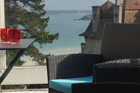 "Fantastic  ""  Sea View in SAINT CAST "" near Dinard - Saint-Cast-le-Guildo - 아파트"