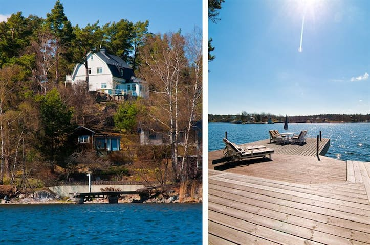 Seaside Villa Stockholm Archipelago