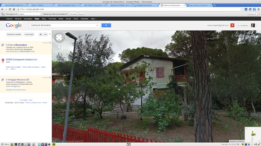 Villa in the pine forest near sea - Marina di Castagneto Carducci - Villa