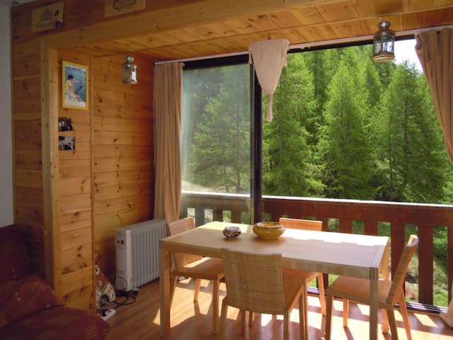 Great apartment at Mountain - Allos - Apartemen