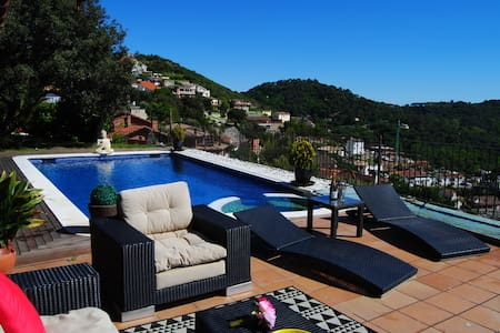 Spectacular house near barcelona with views - Sant Fost de Campsentelles - Dom