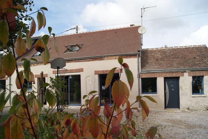 longère plein sud - renovated farm - Mareau-aux-Prés