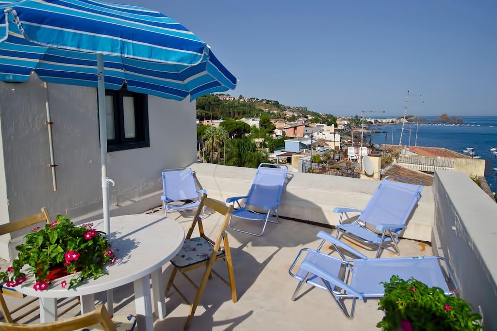 Catania casa rilassarsi vicino alla spiaggia for Piani di casa sulla spiaggia contemporanea