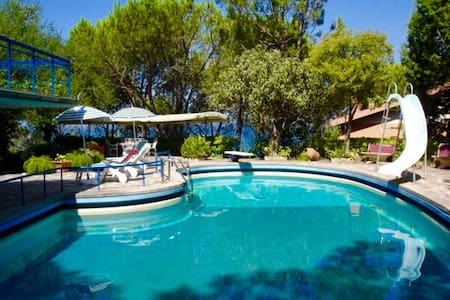 Suite for 2 + 1 in villa with seawater pool - Monte Argentario
