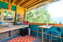 Amazing out building for all of your glamping needs!