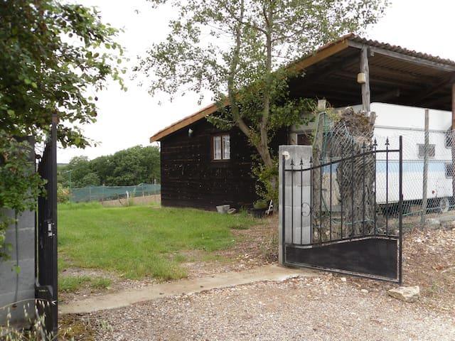 loue chalet caravane calme - Auvillar - Chalet