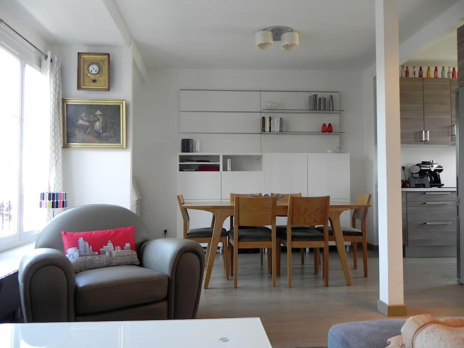 Appartement central et bien equipe appartements louer - Interieur appartement original et ultra moderne a paris ...