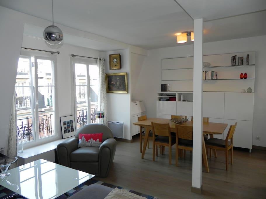 Appartement central et bien equipe appartements louer for Appartement atypique a louer ile de france