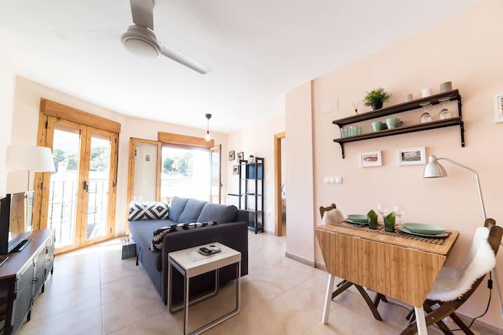 Apartamento para enamorados del turismo activo