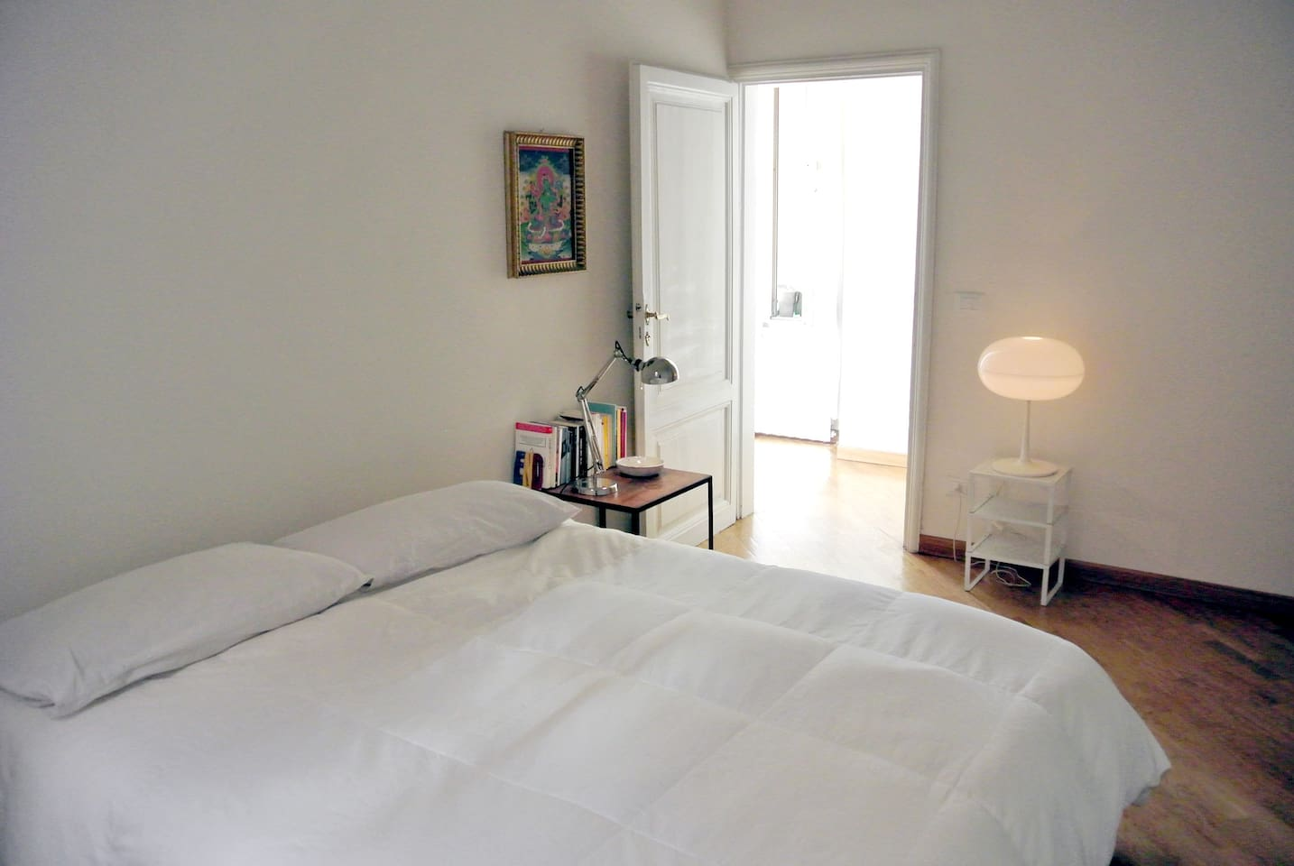 Charming apartment in the heart of Trastevere - bedroom