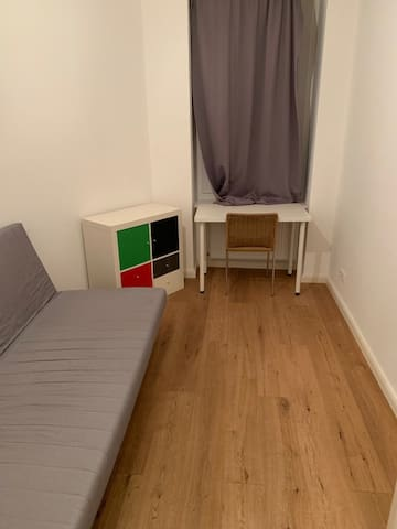 Small private room in a shared flat
