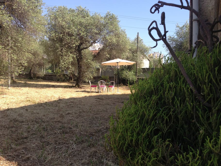 After a hot day at the beaches, our lush garden for you to enjoy a fresco dinner....