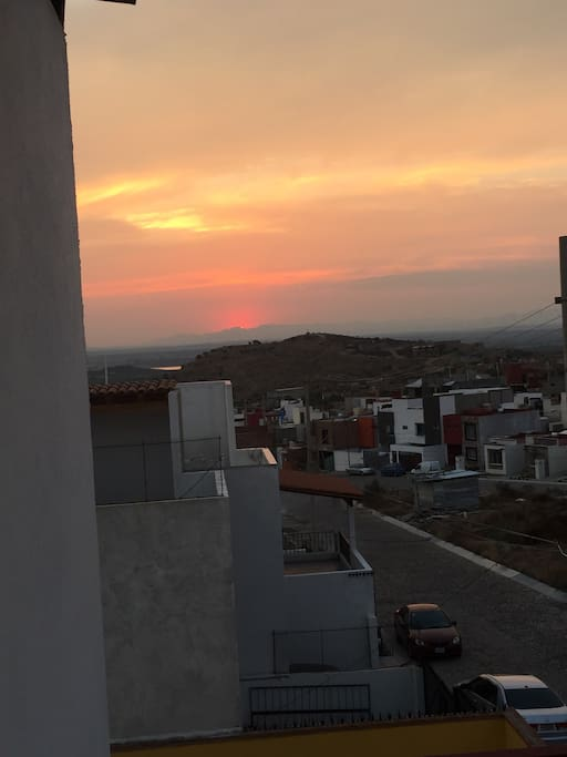 Sunset from Terrace