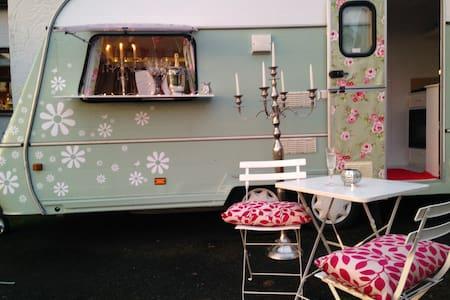 """""""Glamping"""" in pretty 2 berth camper - Beauparc - Karavan"""